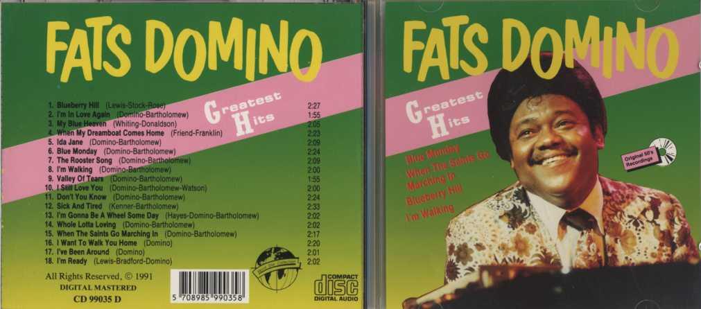 Fats Domino - I'm In Love Again / My Blue Heaven